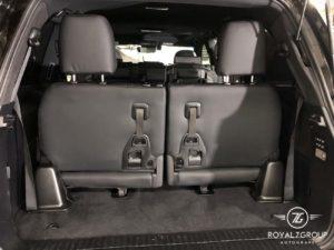 установка оригинального 3 ряда сидений toyota lexus