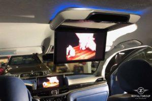 потолочный монитор lexus lx 570