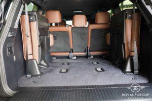 третий ряд сидений toyota cruiser 200 коричневый excalibur