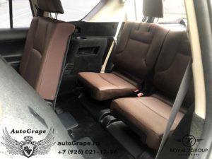 установка 3 ряда сидений toyota prado 150